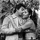 Kamal Haasan and Madhavi in Sattam (1983)