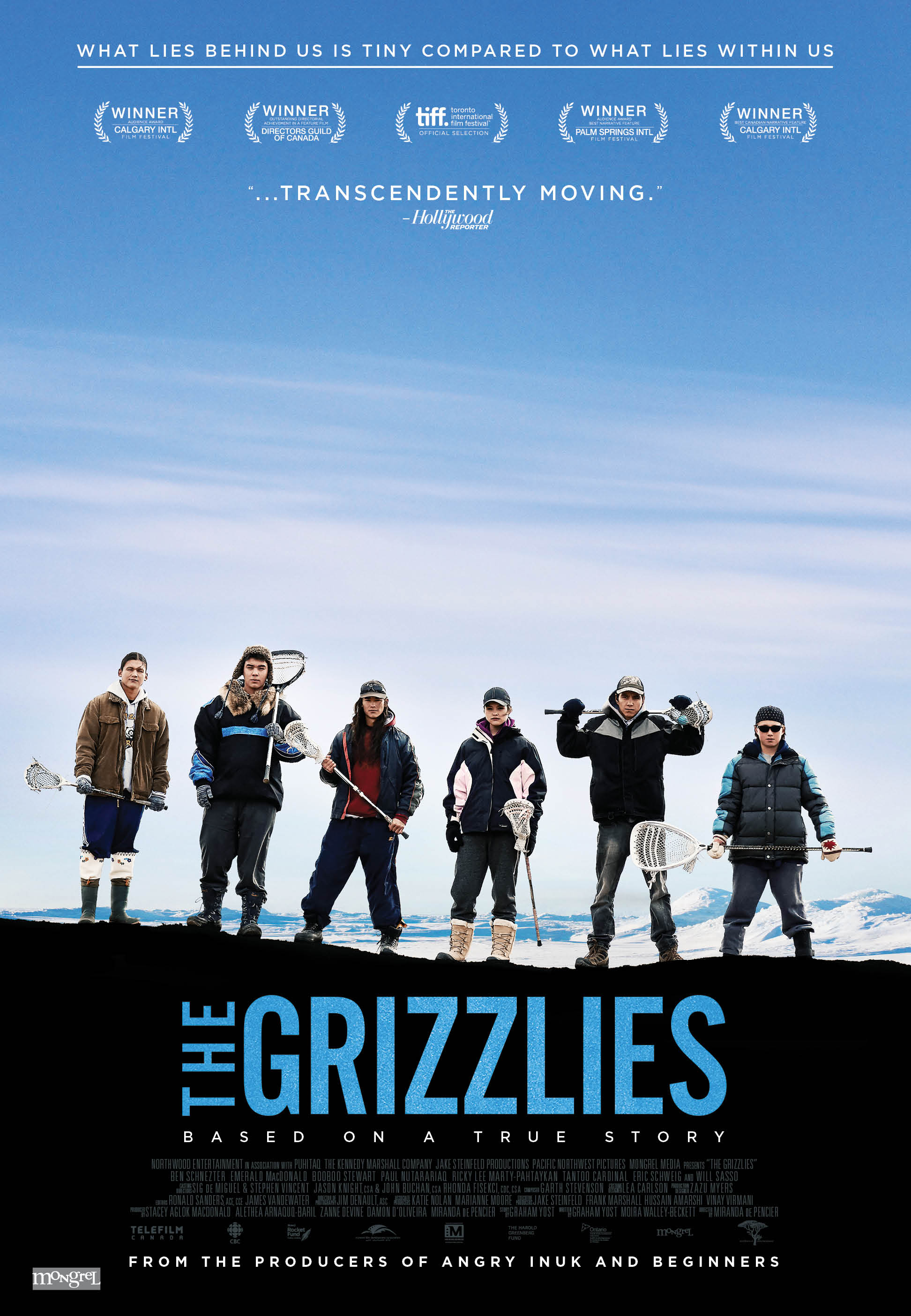 "WATCH: Trailer Released for New Film ""The Grizzlies"" Which Tells True Story of How Lacrosse Reduced Rate of Teen Suicide in Nunavut Town"