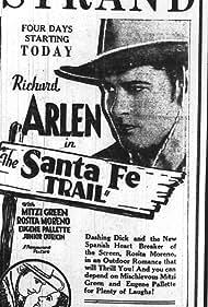 Richard Arlen and Rosita Moreno in The Santa Fe Trail (1930)