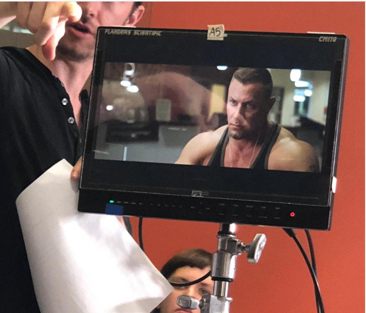 "Rob Youells on set for ""Pay Pig"" (In production)"