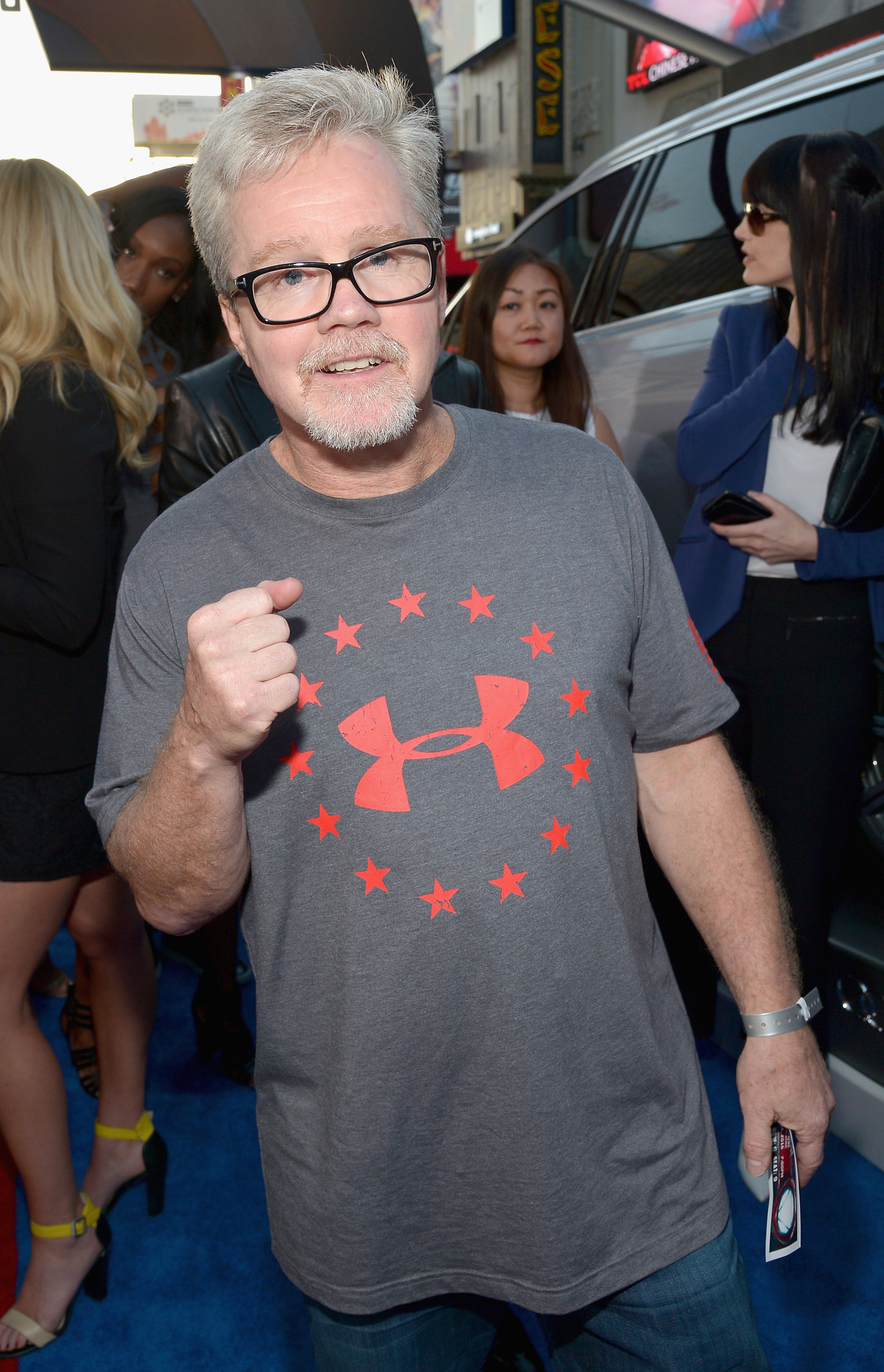 The 60-year old son of father (?) and mother(?) Freddie Roach in 2020 photo. Freddie Roach earned a  million dollar salary - leaving the net worth at  million in 2020