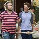 Bret Harrison and Tyler Labine in Reaper (2007)