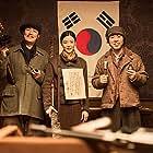 Jun Ji-Hyun, Choi Deok-moon, and Cho Jin-woong in Amsal (2015)