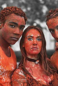 Alison Brie, Danny Pudi, and Donald Glover in Community (2009)
