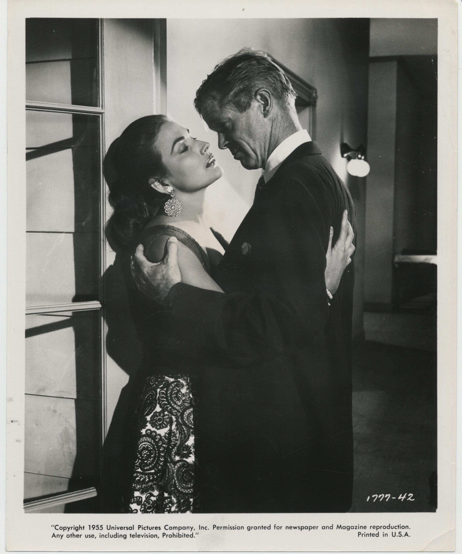Dan Duryea and Mara Corday in Foxfire (1955)