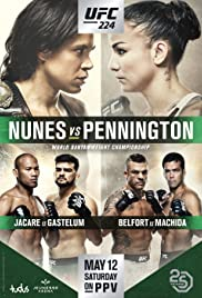 UFC 224: Nunes vs. Pennington Poster
