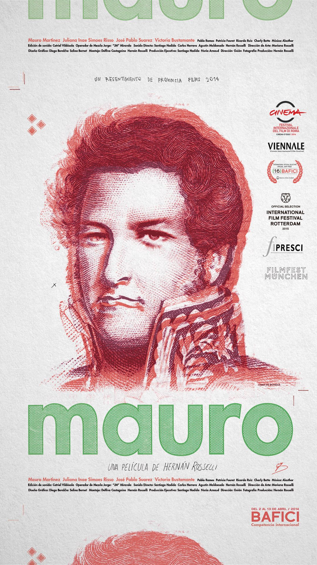Mauro (2014) | DVDRip Latino HD GoogleDrive 1 Link