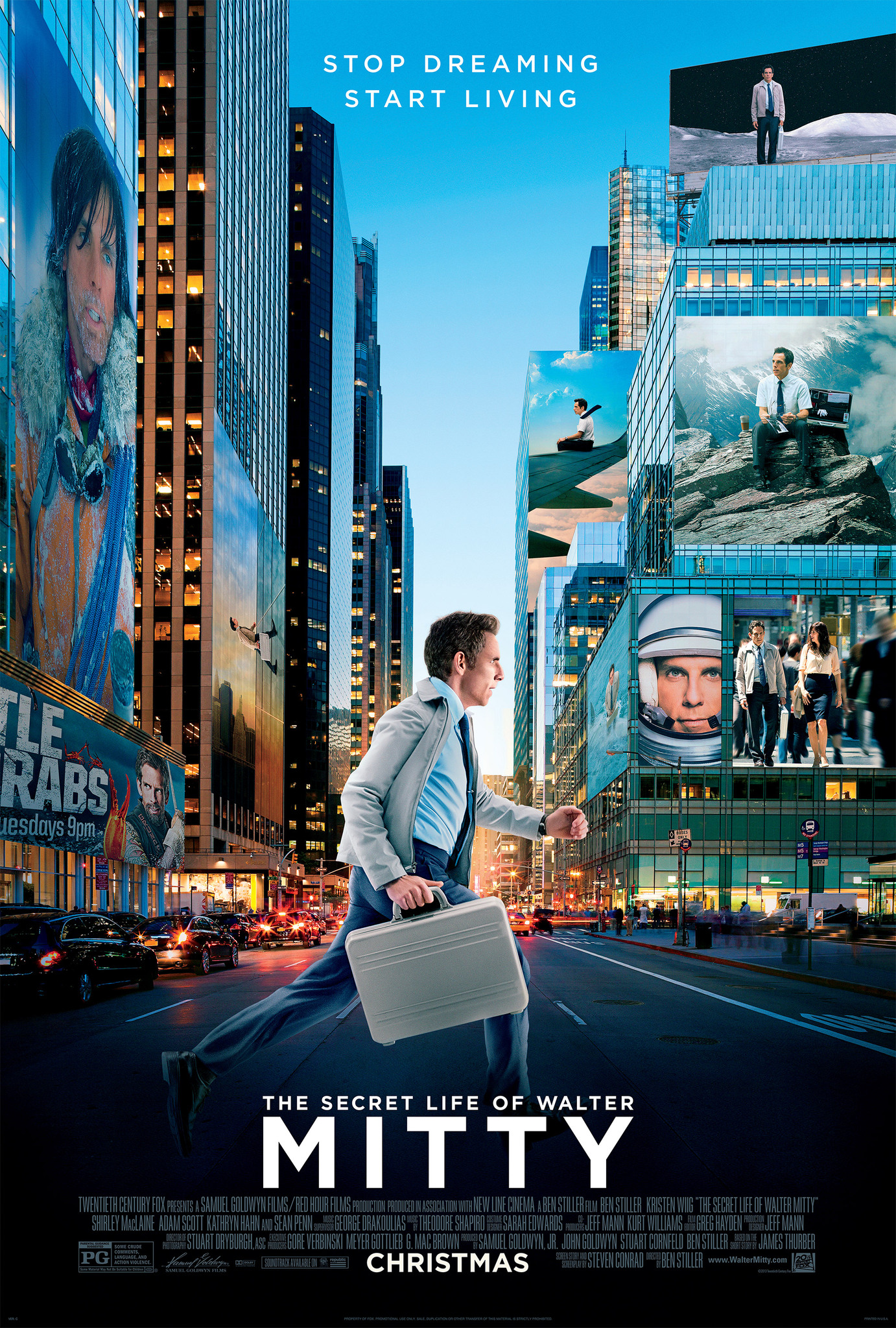 The secret life of walter mitty novel