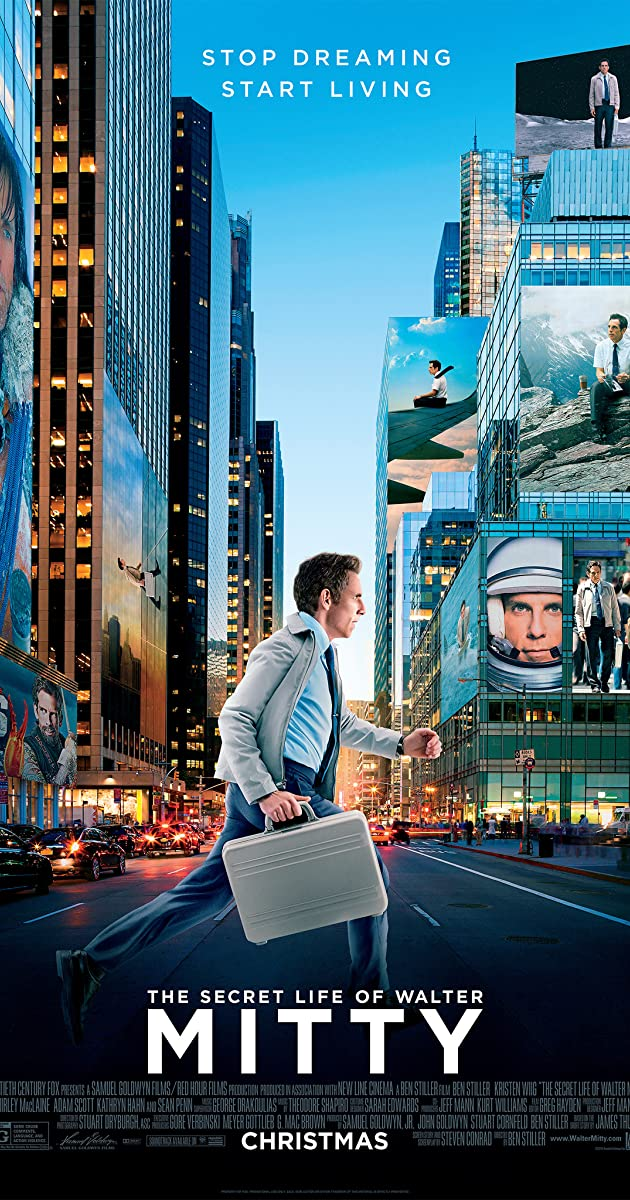 The Secret Life Of Walter Mitty 2013 Imdb