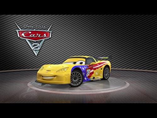 """Cars 2 -- """"Meet Jeff Gorvette"""""""