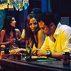 Jeffrey Dean Morgan and Zoe Saldana in The Losers (2010)