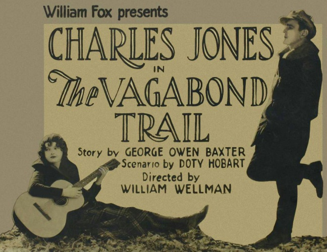 Buck Jones and Marian Nixon in The Vagabond Trail (1924)