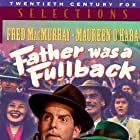 Maureen O'Hara, Natalie Wood, and Fred MacMurray in Father Was a Fullback (1949)