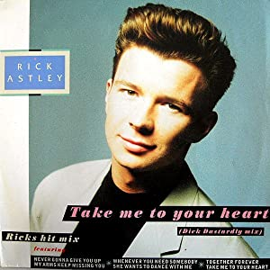 New movie websites to watch for free Rick Astley: Take Me to Your Heart by none [BDRip]