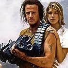 Christopher Lambert and Loryn Locklin in Fortress (1992)