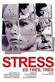 Geraldine Chaplin, Fernando Cebrián, and Juan Luis Galiardo in Stress-es tres-tres (1968)