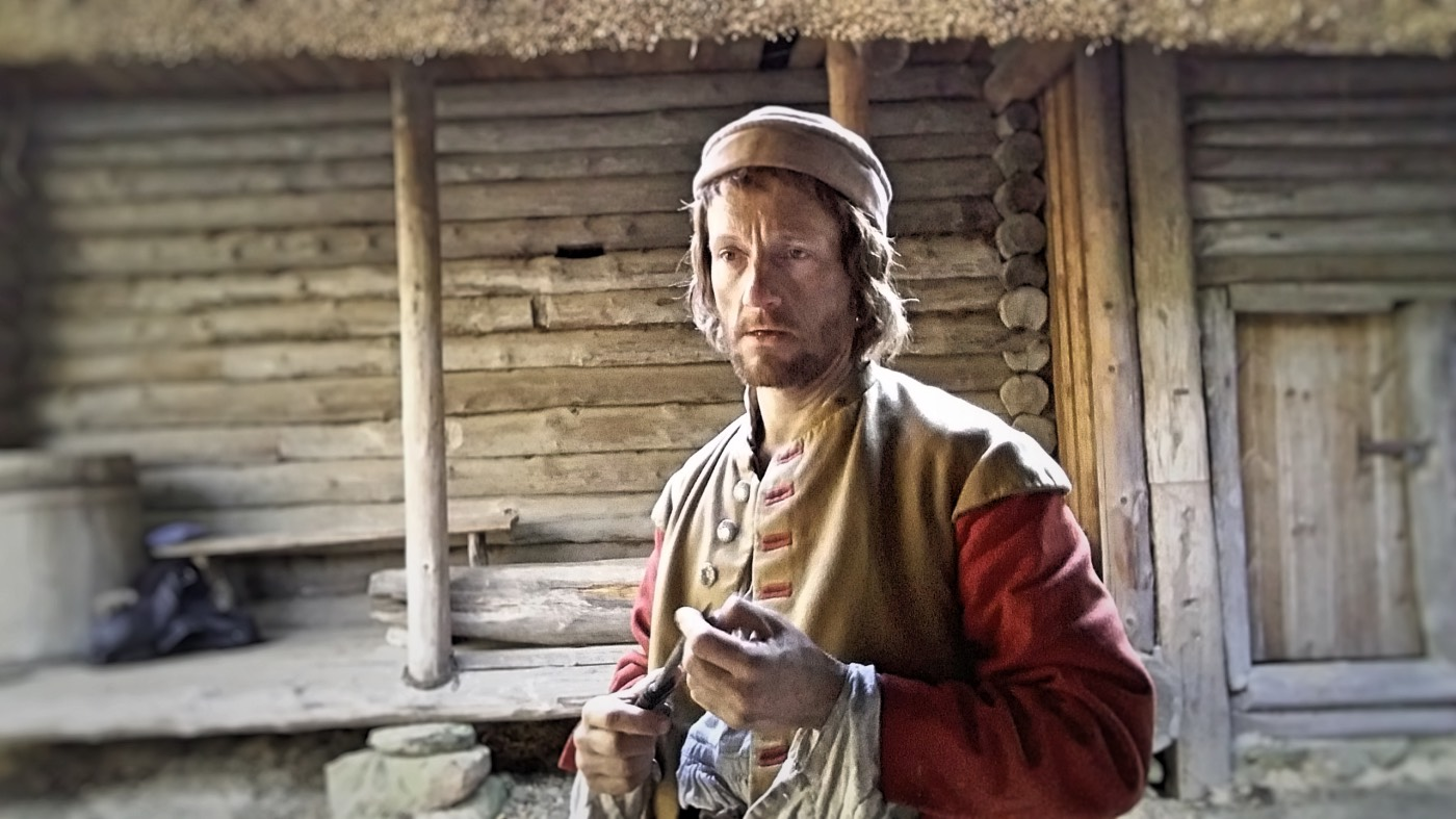 Michael Ihnow as Jakob in AGE OF IRON