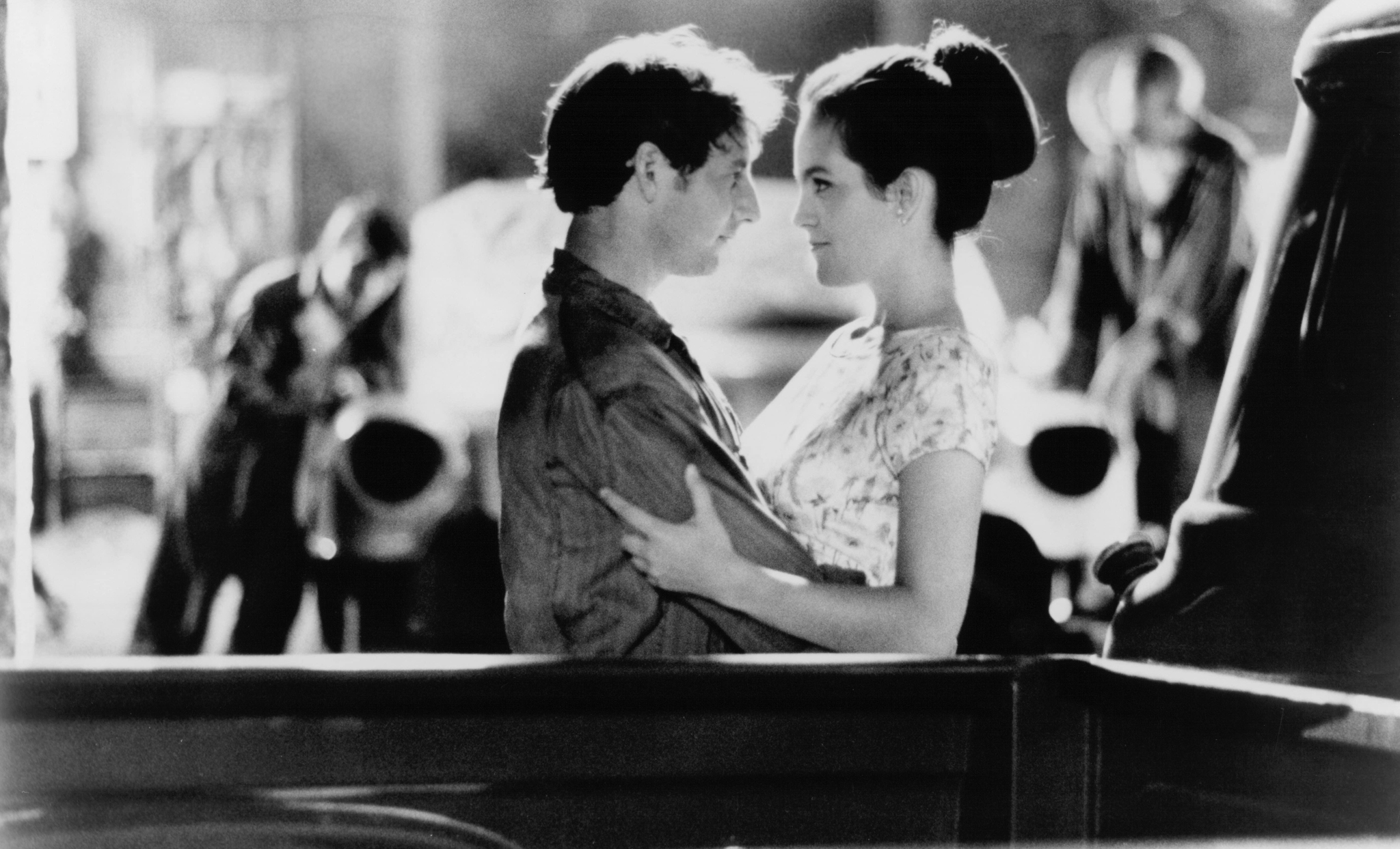 Annabeth Gish and Arye Gross in Coupe de Ville (1990)