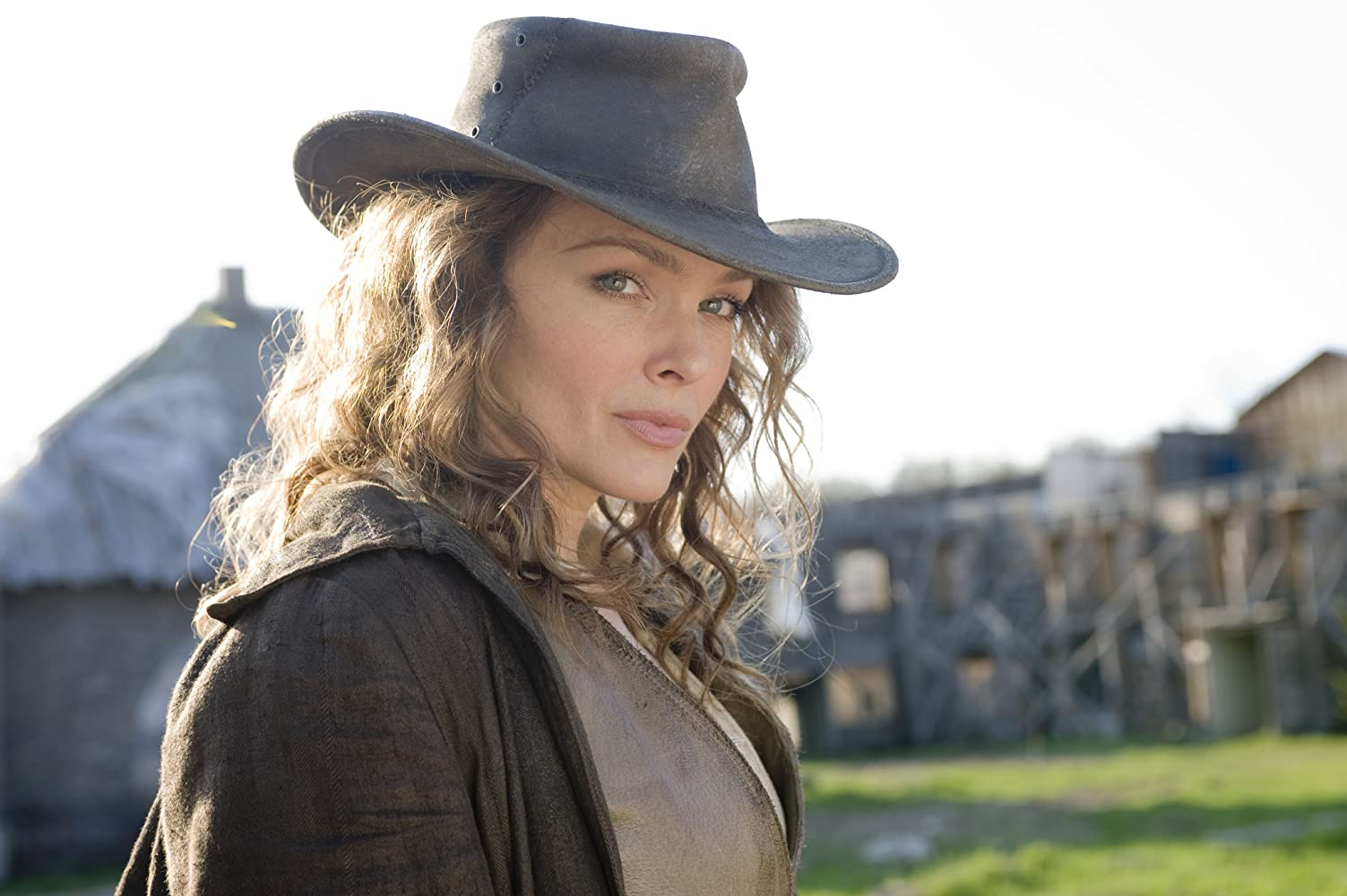 Dina Meyer in Dead in Tombstone (2013)