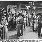 Smith Ballew, Curt Barrett, Johnny Mack Brown, Bud Dooley, Slim Duncan, Stanley Ellison, Beverly Jons, and Curt Barrett and the Trailsmen in Drifting Along (1946)