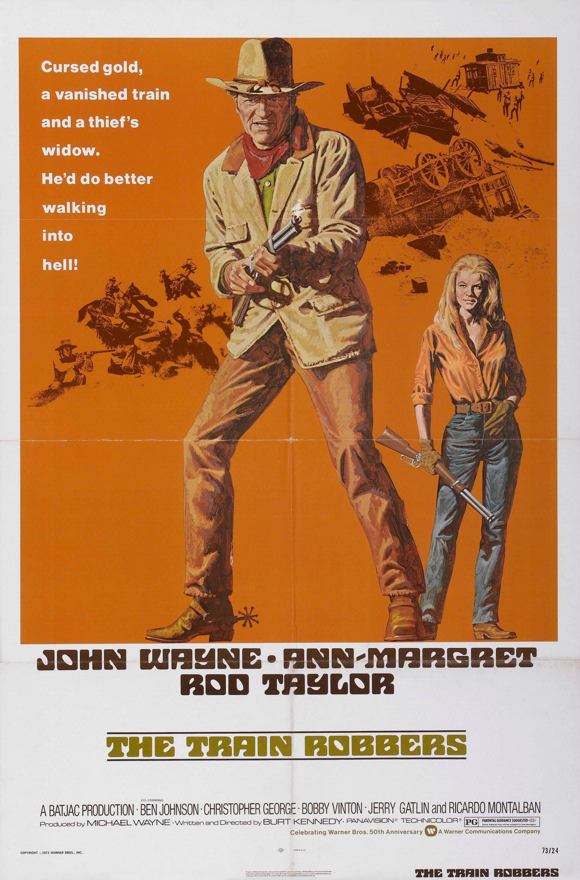 the train robbers 1973 trailer