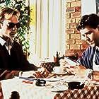 Russell Crowe and Hugo Weaving in Proof (1991)
