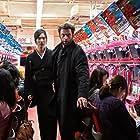 Hugh Jackman and Tao Okamoto in The Wolverine (2013)