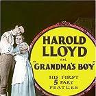 Harold Lloyd and Anna Townsend in Grandma's Boy (1922)
