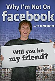 Why I'm Not on Facebook Poster
