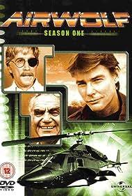 Ernest Borgnine, Jan-Michael Vincent, and Alex Cord in Airwolf (1984)