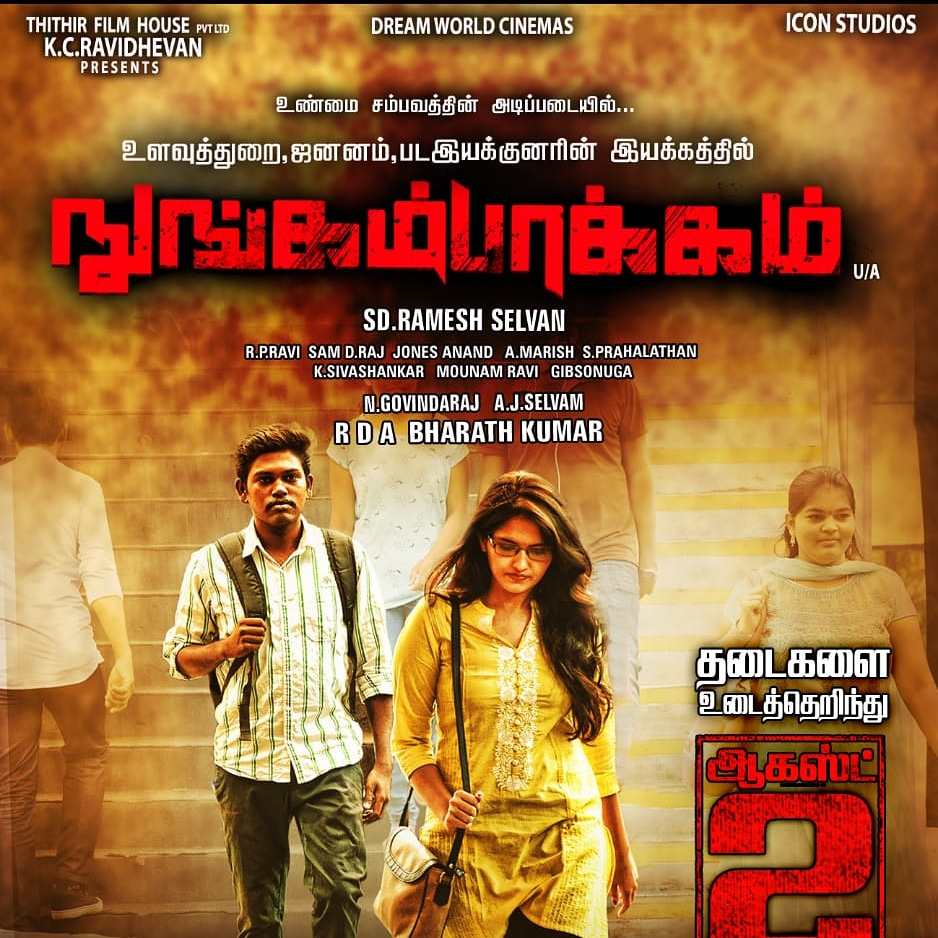 Nungambakkam 2020 Tamil 408MB HDRip Download