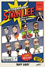 Jonathan Josell, Cat Josell, and Darren Passarello in Extraordinary: Stan Lee (2017)