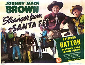 Lambert Hillyer Stranger from Santa Fe Movie