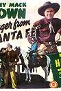 Stranger from Santa Fe (1945) Poster