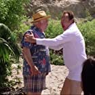 Ed Asner and Randy Quaid in Christmas Vacation 2: Cousin Eddie's Island Adventure (2003)