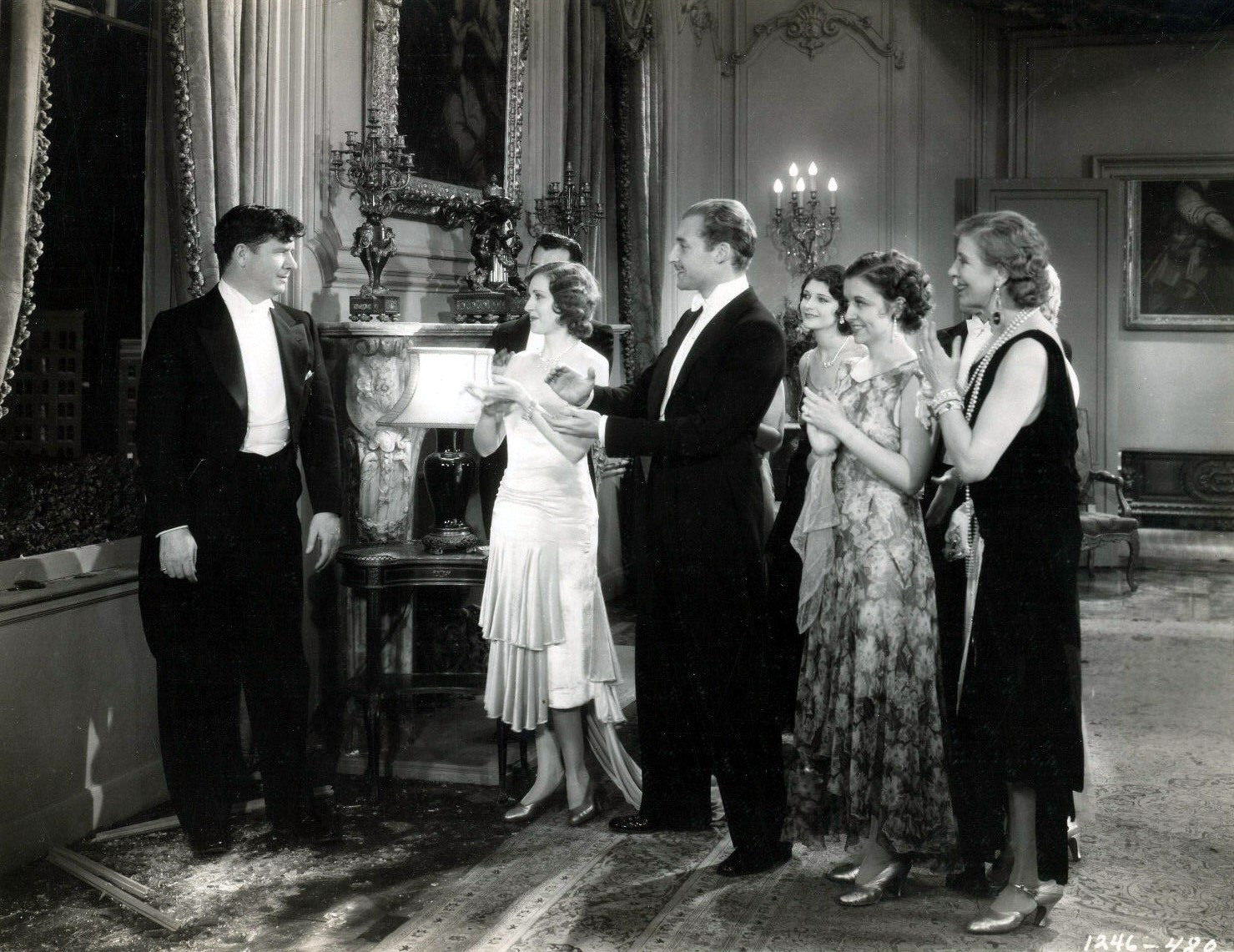 George Bancroft in Paramount on Parade (1930)