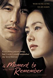 A Moment to Remember (2004) Nae meorisokui jiwoogae 720p