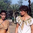 Sam Heughan and Lauren Cohan in Young Alexander the Great (2010)