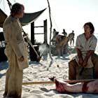 Lawrence Joffe and Luke Arnold in Black Sails (2014)