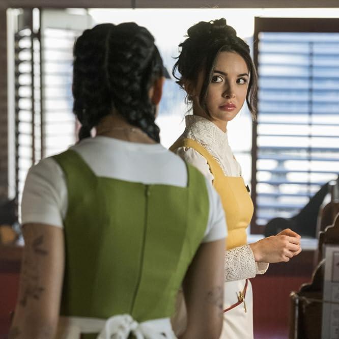 Leah Lewis and Maddison Jaizani in Nancy Drew (2019)