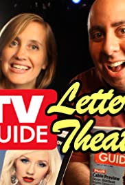 TV Guide Letter Theater Poster
