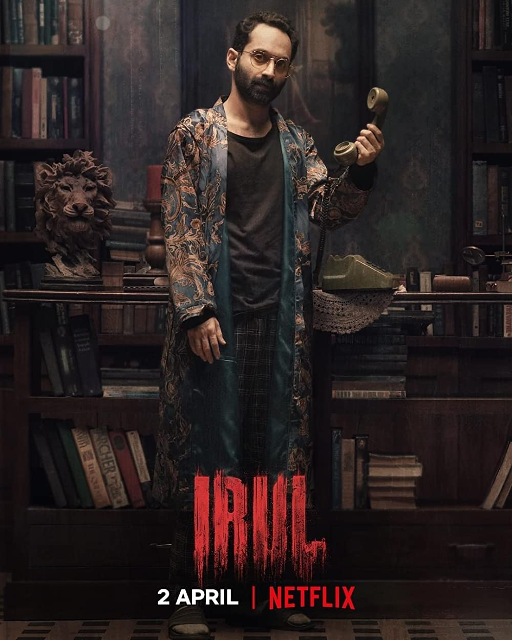 Irul 2021 Malayalam 720p NF HDRip MSubs 1.3GB x264 AAC