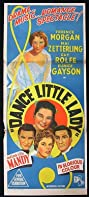 Dance Little Lady (1954) Poster