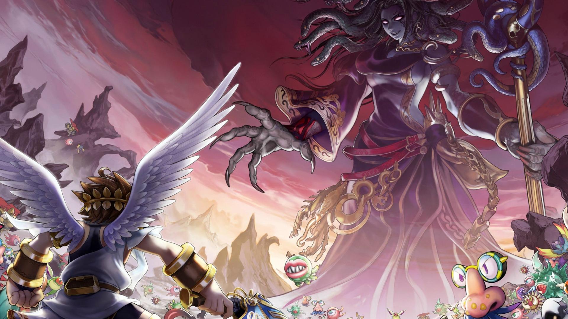 Kid Icarus Uprising Video Game 2012