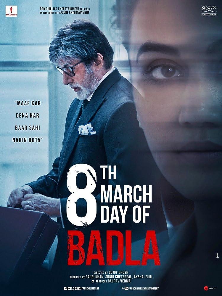 Badla (2019) Hindi 720p WEB-DL 1GB ESubs Download