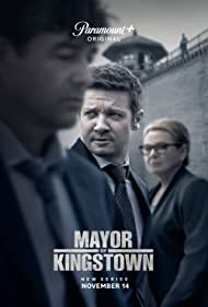 Dianne Wiest, Kyle Chandler, and Jeremy Renner in Mayor of Kingstown (2021)