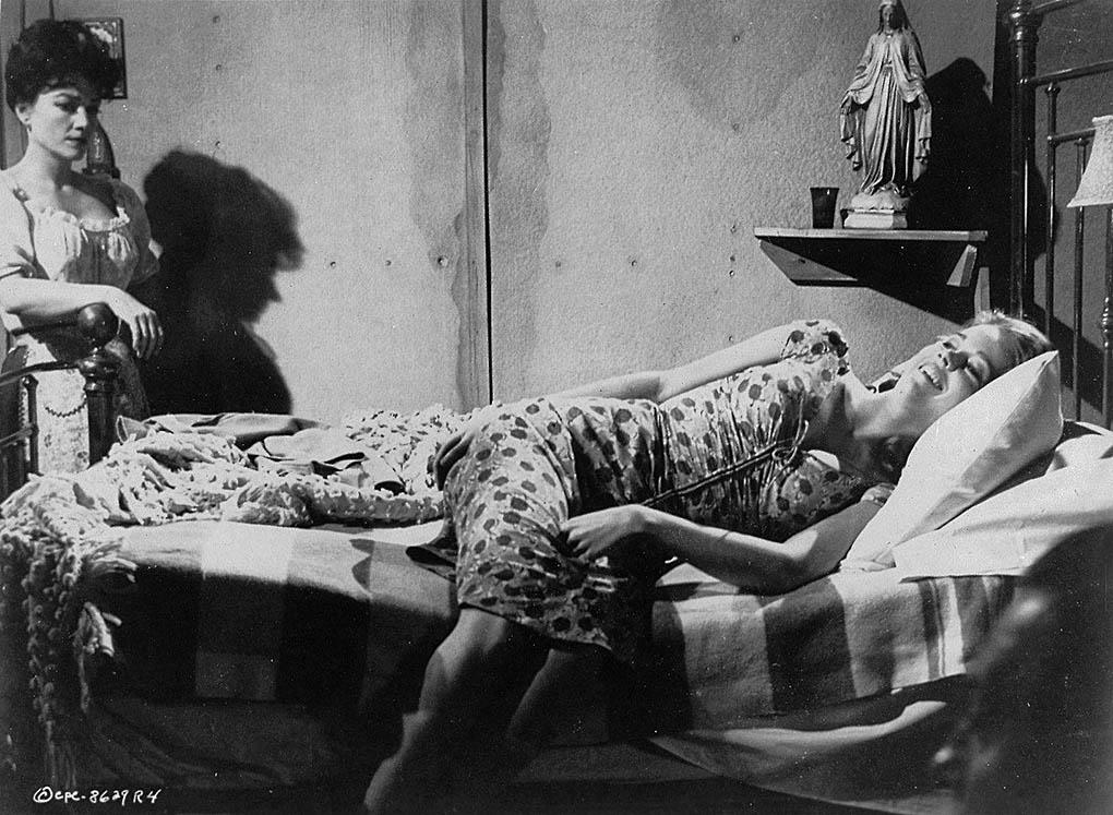 Jane Fonda and Capucine in Walk on the Wild Side (1962)