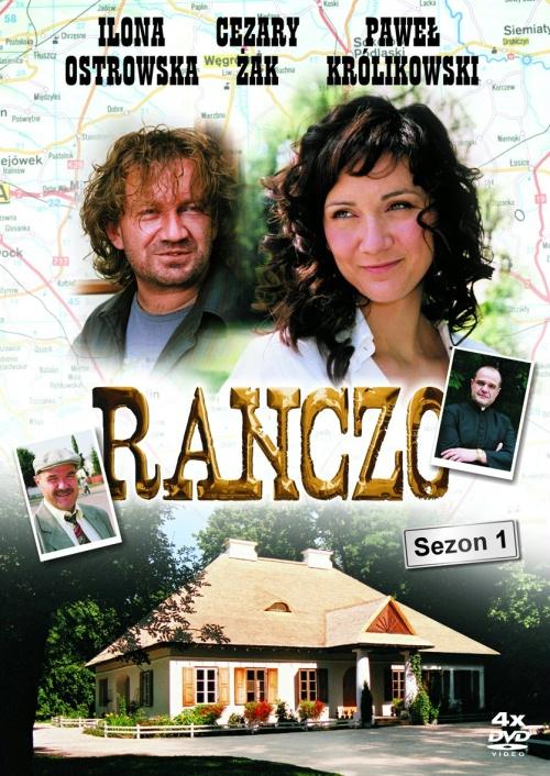 Pawel Królikowski, Cezary Zak, and Ilona Ostrowska in Ranczo (2006)
