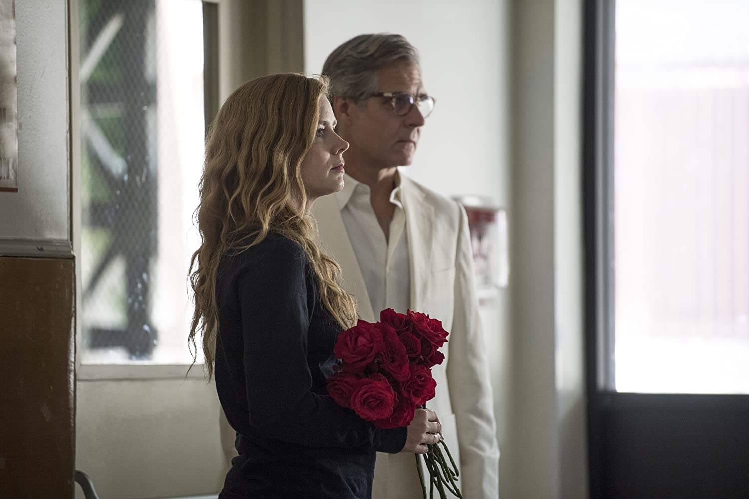 Henry Czerny and Amy Adams in Sharp Objects (2018)