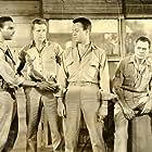 Lloyd Bridges, Steve Brodie, James Edwards, and Frank Lovejoy in Home of the Brave (1949)